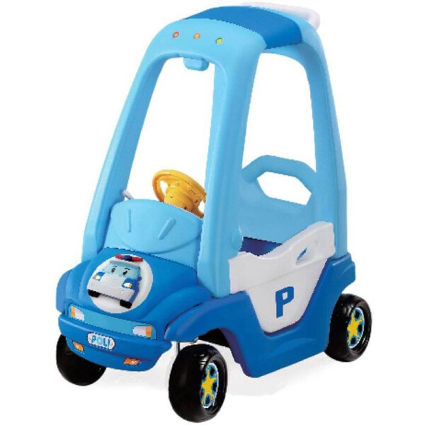 Toys Yaya Police Soft Roof Car