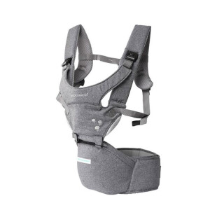 Gear Mooimom Lightweight Hipseat Carrier Gendongan Bayi – Grey