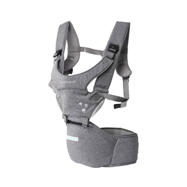 Gear Mooimom Lightweight Hipseat Carrier Gendongan Bayi – Grey