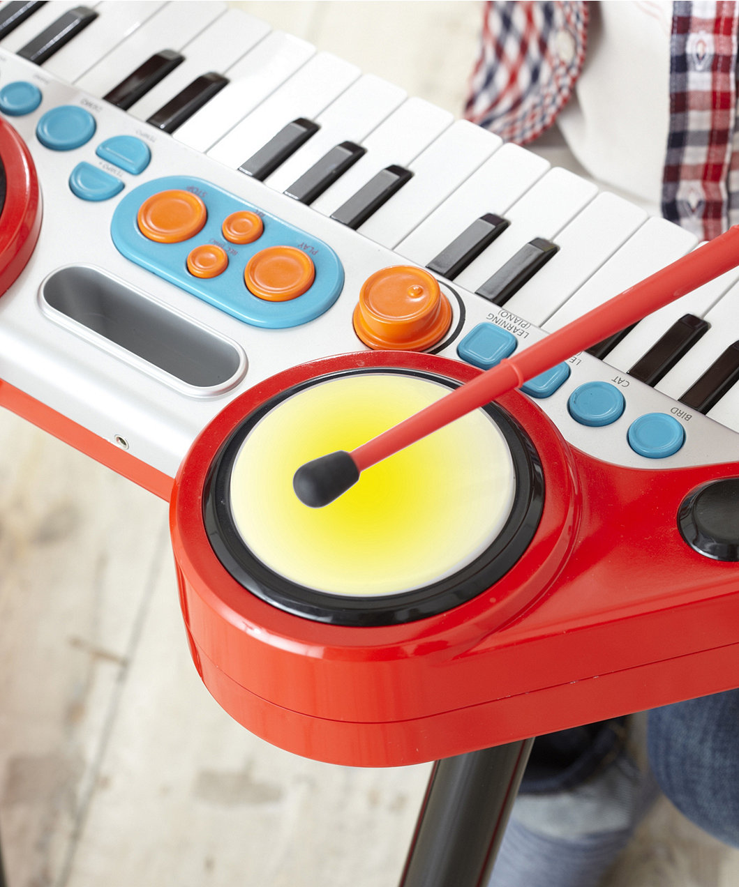 Pretend Play ELC Key-Boom-Board – Red