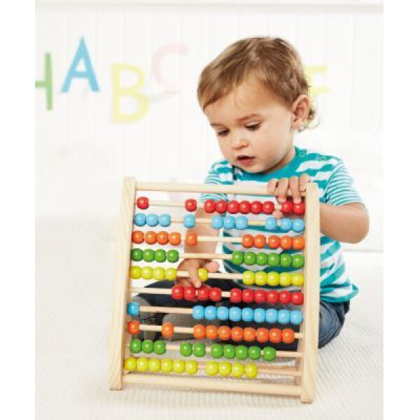 ELC Wooden Abacus Teaching Frame 3