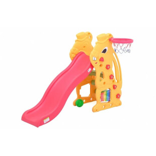 Toys Labeille Bunny Slide and Basketball – Yellow