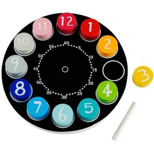 ELC Wooden Teaching Clock 2