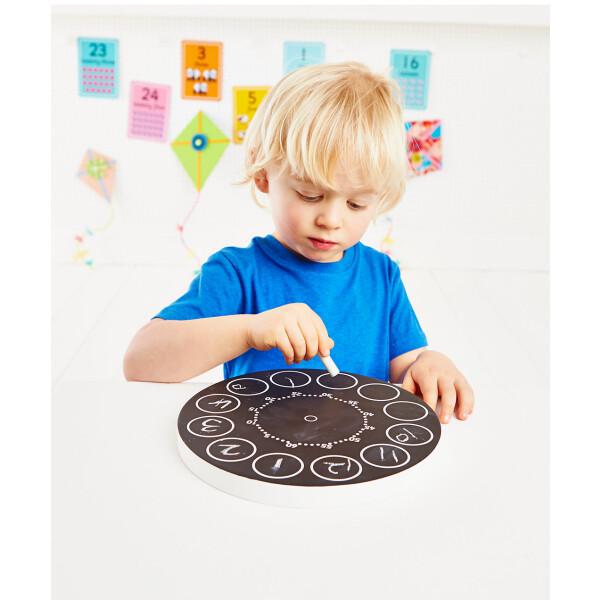 ELC Wooden Teaching Clock 3
