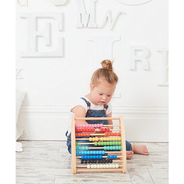 ELC Wooden Abacus Teaching Frame 4