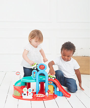 Toys ELC Whizz World Lights and Sounds Garage