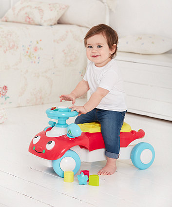 Toys ELC Wobble Toddle Ride On Push Walker