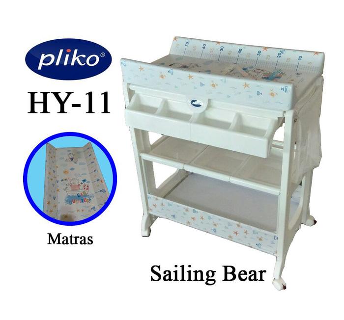 Tafel & Bathtub Pliko Baby Tafel Changing Table – Sailing Bear