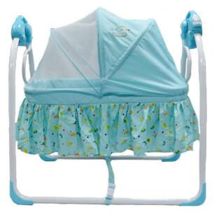 Babyelle Automatic Cradle Swing Tempat Tidur Bayi – Blue (DISKON – Musik tidak menyala)