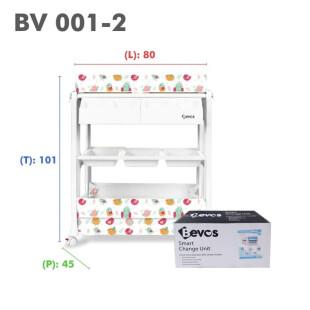 Bevos 2in1 Baby Bath & Changing Station Baby Tafel BV 001-2