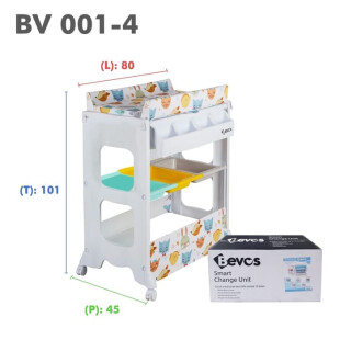 Bevos 2in1 Baby Bath & Changing Station Baby Tafel BV 001-4