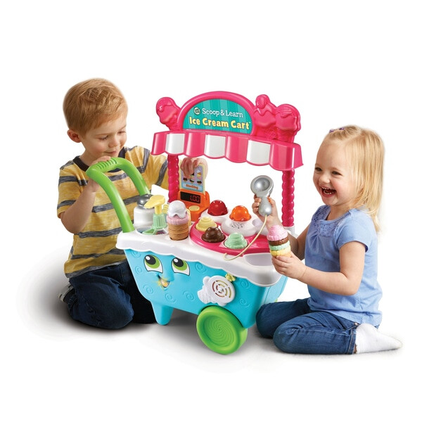 Leapfrog Scoop and Learn Ice Cream Cart 4