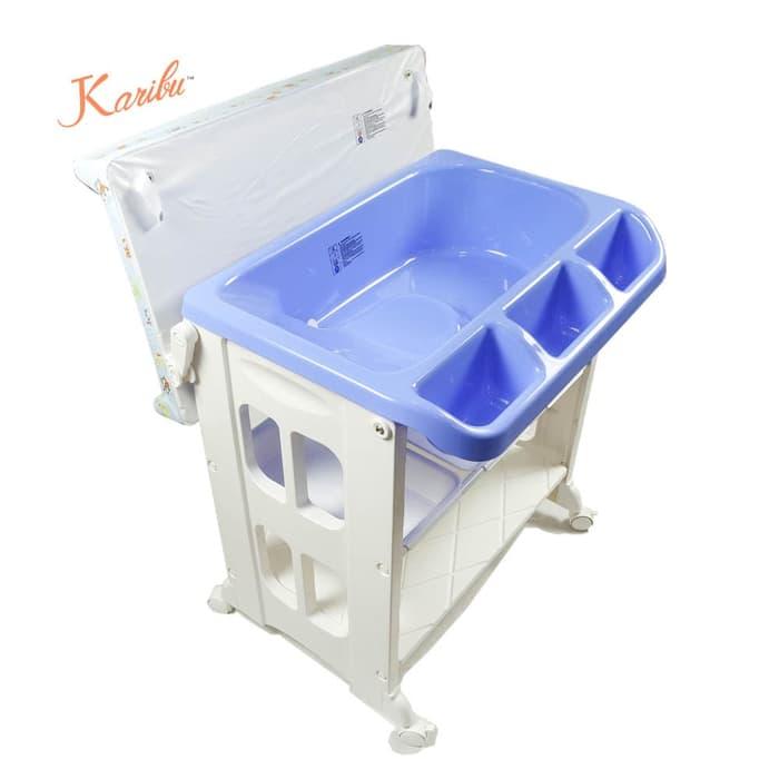 Tafel & Bathtub Karibu 2in1 Bath & Changing Station (Baby Tafel) – Ungu