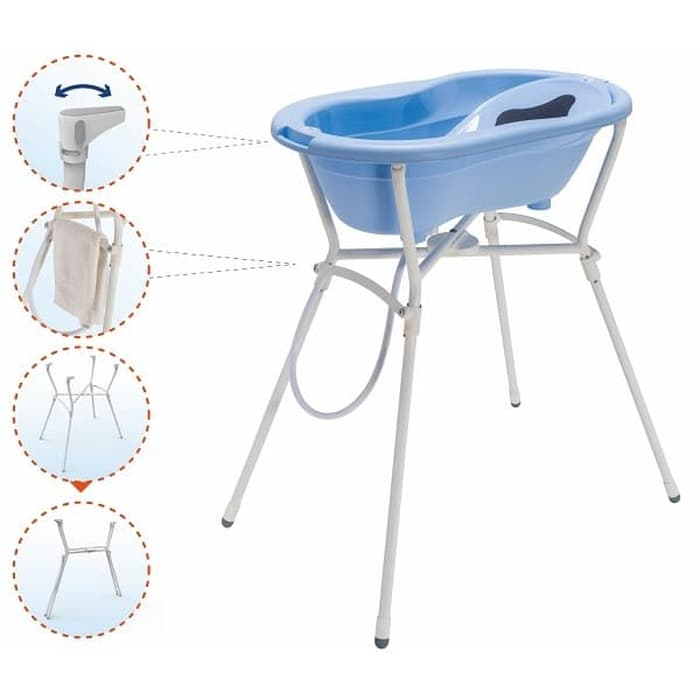 Nursery Rotho Bath Solution – Sky Blue