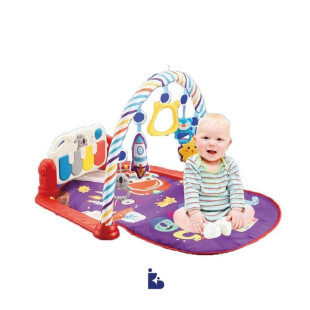 Bebe Smart 6 in 1 Piano Playmat – Fun at Space Blue