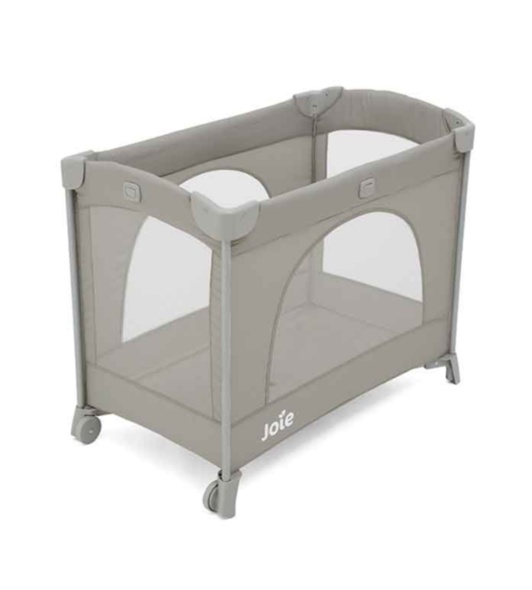 Nursery Joie Baby Box Travel Cot Kubbie – Clay