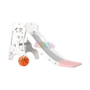 Happy Play Hamster Slide – White Pink