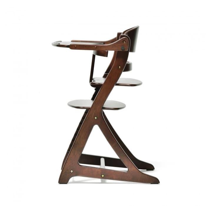 Gear Yamatoya Sukusuku Plus Table High Chair – Dark Brown