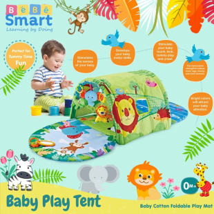 Toys Bebe Smart Baby Play Tent – Green