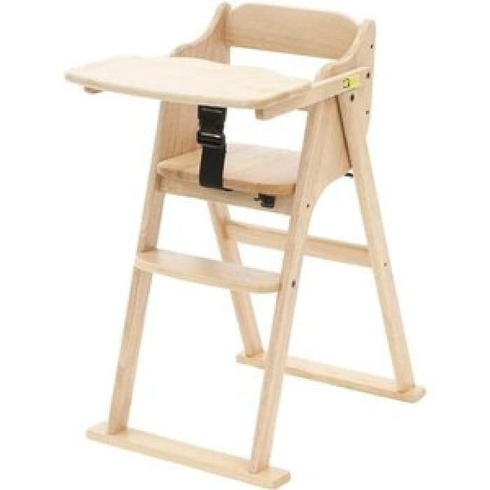 Gear Yamatoya Tatameru High Chair – Natural