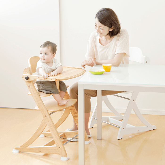 Gear Yamatoya Sukusuku Plus Table High Chair – Natural