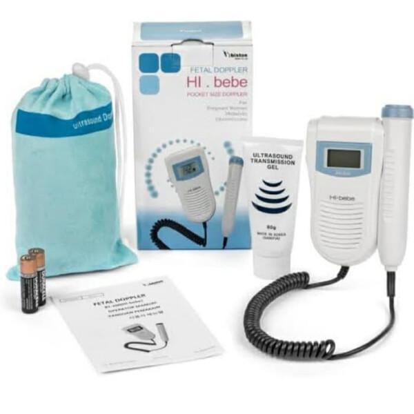 For Moms Bistos Hi-Bebe Fetal Doppler
