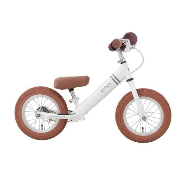 Toys IIMO Balance Kick Bike – White