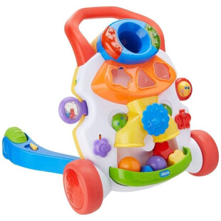 Chicco Toy Baby Steps Activity Push Walker