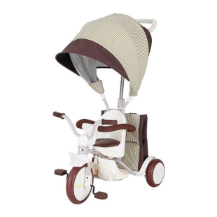 Toys IIMO Tricycle 03 Non Folding Canopy – White