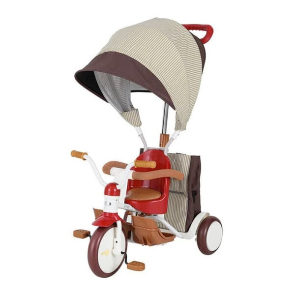 Bike, Tricycles & Scooters IIMO Tricycle 03 Non Folding Canopy – Red