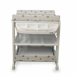 Nursery Cocolatte Baby Tafel Bath & Changing Table – Brown