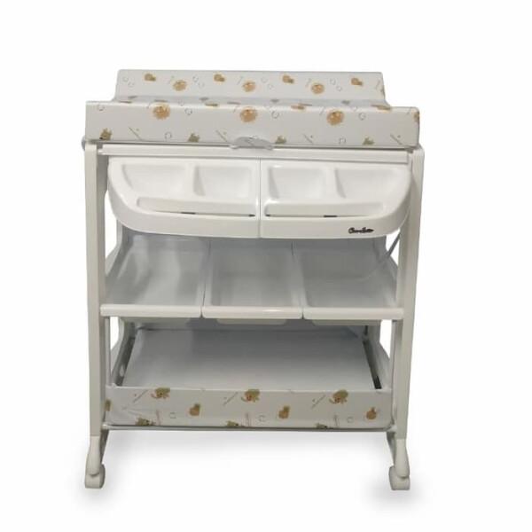 Nursery Cocolatte Baby Tafel Bath & Changing Table – Brown