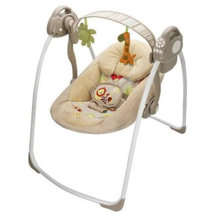 Babyelle Automatic Baby Swing Comfort and Deluxe – Beige