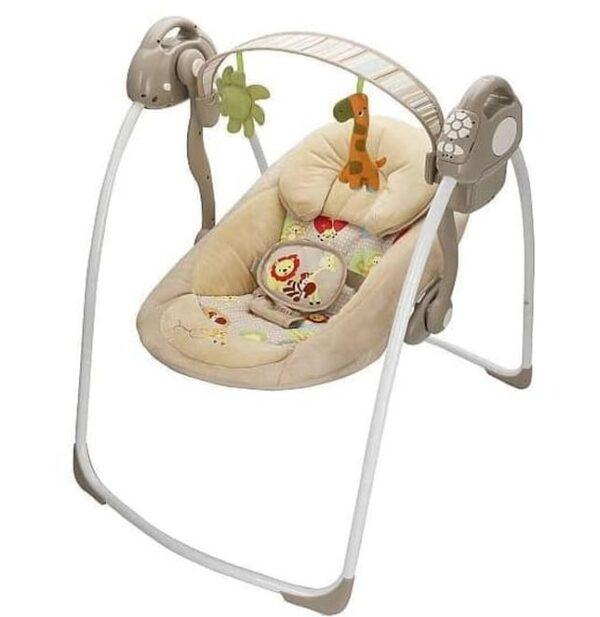 Nursery Babyelle Automatic Baby Swing Comfort and Deluxe – Beige