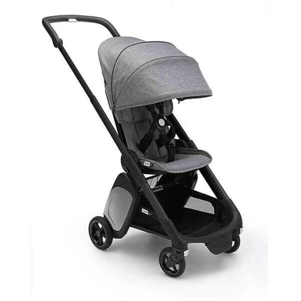 Stroller Bugaboo Ant Stroller Frame Black – Grey Melange