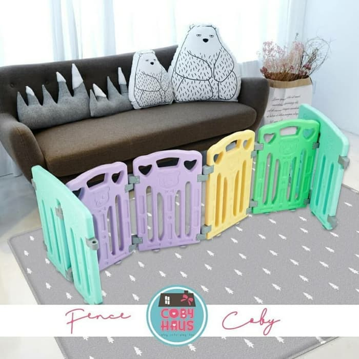Play Fences Coby Haus Fence 6+2+2