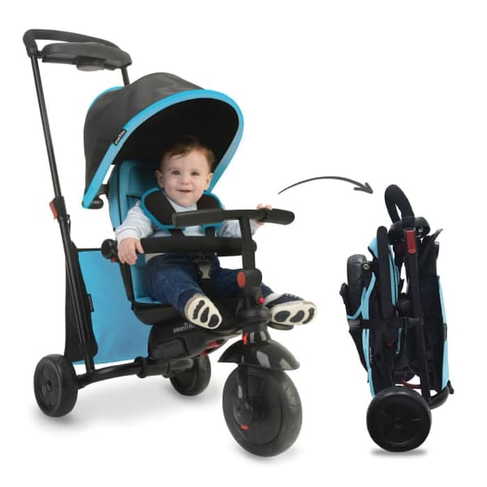 Toys SmarTrike SmarTfold 500 6in1 Tricycle – Blue