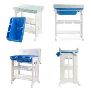 Tafel & Bathtub Karibu 2in1 Bath & Changing Station (Baby Tafel) – Blue
