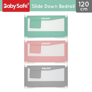 Baby Safe XY002A Slide Down Bed Rail 120cm – Green