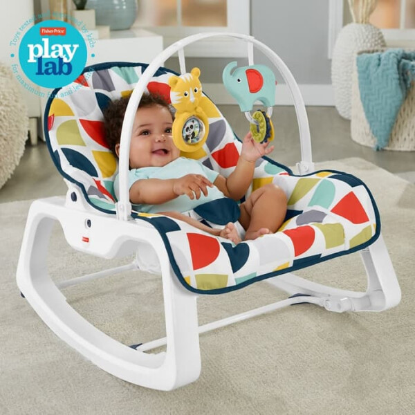 Nursery Fisher Price Infant to Toddler Bouncer – Colorful
