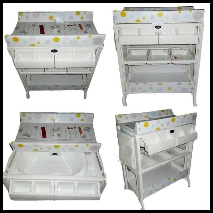 Tafel & Bathtub Pliko Baby Tafel Changing Table – Pinguin