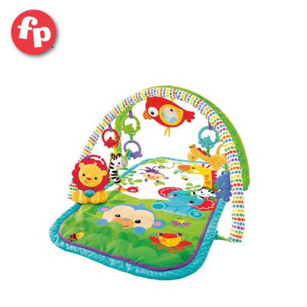 Baby Gym Fisher Price Newborn 3in1 Rainforest Musical Activity Gym