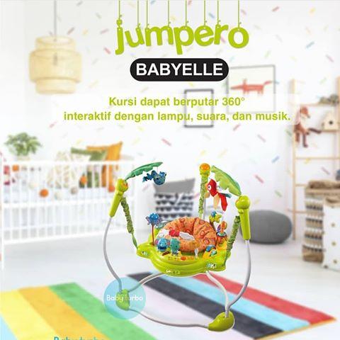 Toys Babyelle Jungle Jumperoo – Green