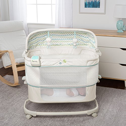 Cribs and Matresses Ingenuity Dream & Grow Bedside Bassinet Deluxe – Blakely