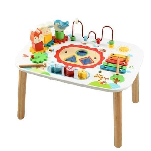 Toys ELC Wooden Activity Table – Xylophone