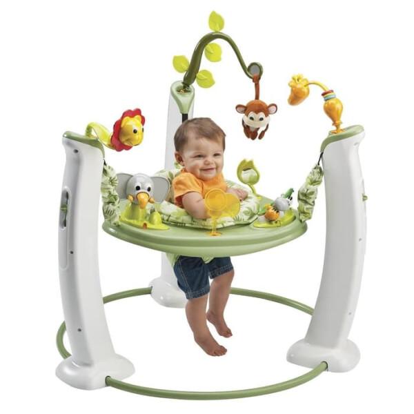 Toys Evenflo Exersaucer Jump and Learn Jumperoo – Safari Friends