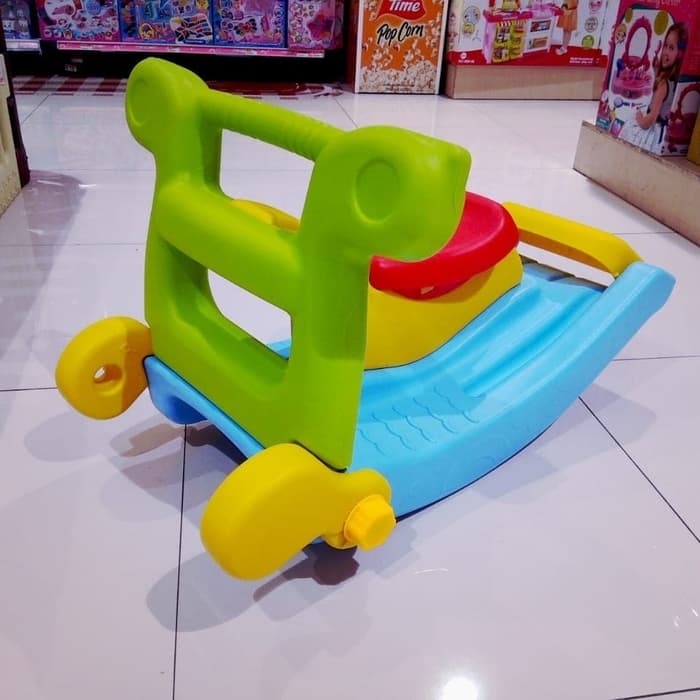 Toys Paso Slide 2in1 Rocking Horse