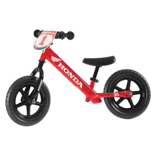Strider Balance Kick Bike – Red Honda