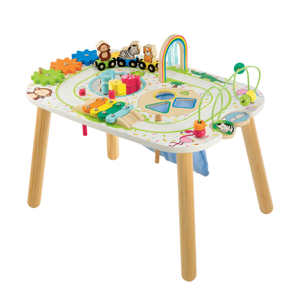 Toys ELC Wooden Activity Table – Train