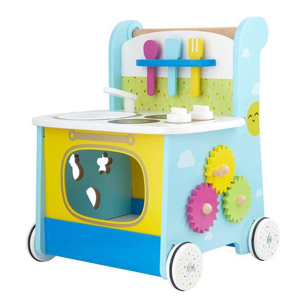 Toys ELC Wooden Activity Kitchen Walker
